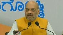 Karnataka Assembly polls : Amit Shah accuses Congress of playing minority status card |Oneindia News