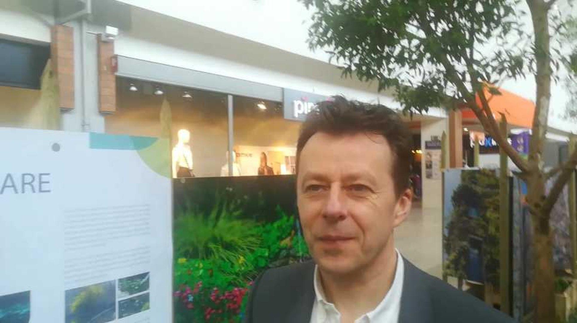 Carlo Di Antonio au Shopping Cora de Hornu