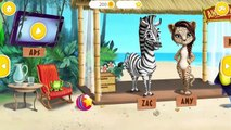 Fun Jungle Animals Care - Cute Wild Pets Bath Time Dress Up Haircut Games for Kids and Toddlers