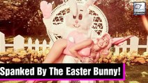 Miley Cyrus Spanked By Naughty Bunny In Racy Easter Photo Shoot