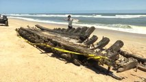 8-Year-Old and Mom Stumble Upon 1700s Shipwreck