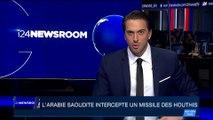 L'Arabie Saoudite intercepte un missile des Houthis