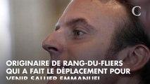"""""""Emmanuel Macron m'a dit : ça fait plaisir de vous revoir !"""" : cette fan du président au Touquet va forcément vous faire sourire"""