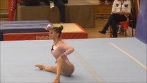 Gymnastics Tünde Csillag Superb Floor Routine