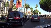 Travel to Cannes, we drive the iconic The Promenade de la Croisette or Boulevard de la Croisette.