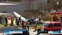 Accident : crash sur l'autoroute