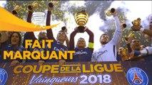 Revivez la remise du trophée aux joueurs du Paris Saint Germain - Finale Coupe de la ligue 2018