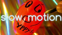water balloons slowmotion slow motion water balloon yppy yppy tv toni tonella