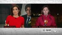 """Puigdemont asegura que no renunciará: """"No claudicaré ante la actuación ilegítima de quienes han perdido en las urnas"""""""