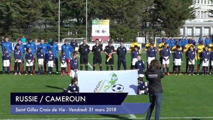 [RESUME] MATCH RUSSIE / CAMEROUN - SAMEDI 31 MARS 2018 - Mondial Football Montaigu