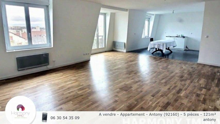 A vendre - Appartement - Antony (92160) - 5 pièces - 121m²