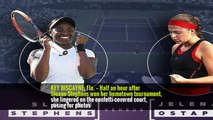 Sloane Stephens Beats Jelena Ostapenko in Miami Open Final