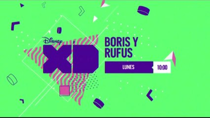 """PROMO """"BORIS Y RUFUS"""" (NUEVA SERIE - 02-04-2018) EN DISNEY XD"""