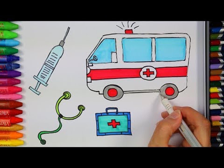 Ambulans Nasil Cizilir Cizelim Boyayalim Video Dailymotion