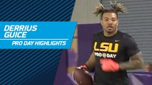 Derrius Guice highlights | LSU pro day 2018