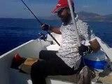 Bora Kaptan Jig turu kuzu avı. | Kalkan kardeşler jigging videoları