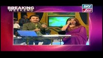 Breaking Weekend - Guest: Marina Khan in High Quality on ARY Zindagi - 1st April 2018