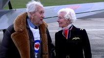 Veteran Spitfire ace takes to the air for RAF centenary