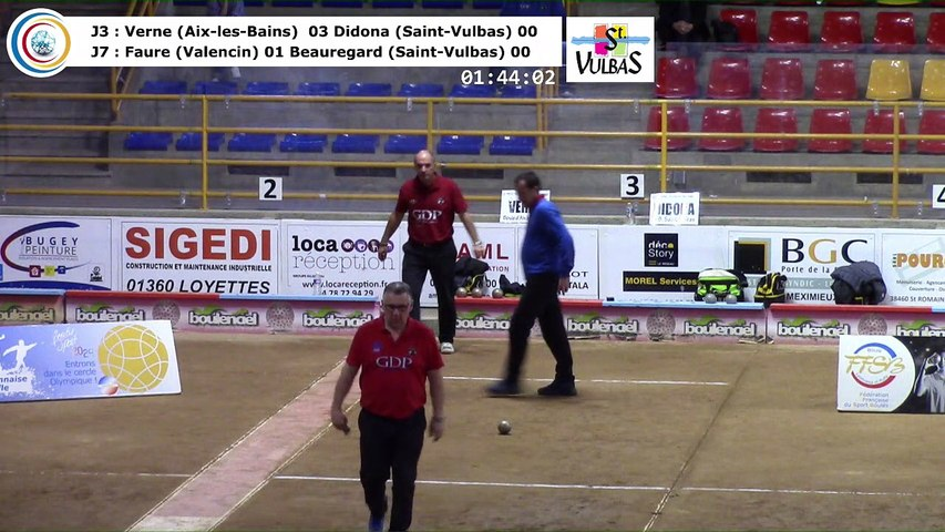 Demi-finales, neuvième étape du Super 16 masculin,  Saint-Vulbas 2018