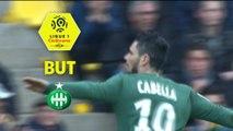 But Rémy CABELLA (63ème) / FC Nantes - AS Saint-Etienne - (0-3) - (FCN-ASSE) / 2017-18