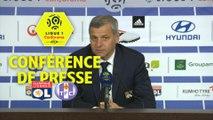 Conférence de presse Olympique Lyonnais - Toulouse FC (2-0) : Bruno GENESIO (OL) - Mickaël  DEBEVE (TFC) / 2017-18
