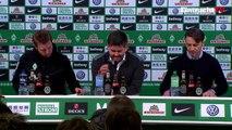 Pressekonferenz nach SVW-SGE   Eintracht Frankfurt