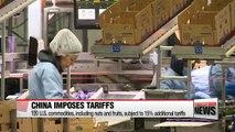 China imposes tariffs on 128 items of U.S. imports