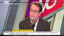 """La prime de 150 euros versée à certains cadres de la SNCF """"n'est pas une prime de casseurs de grève"""", selon Gilles Le Gendre, député LREM"""