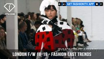Fashion East Trends London Fall/Winter Fashion Week 2018-19 | FashionTV | FTV