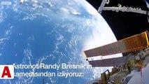 Astronotlar, uzay yürüyüşü sırasında Uluslararası Uzay İstasyonu�nun hareketini hissedebilir mi?