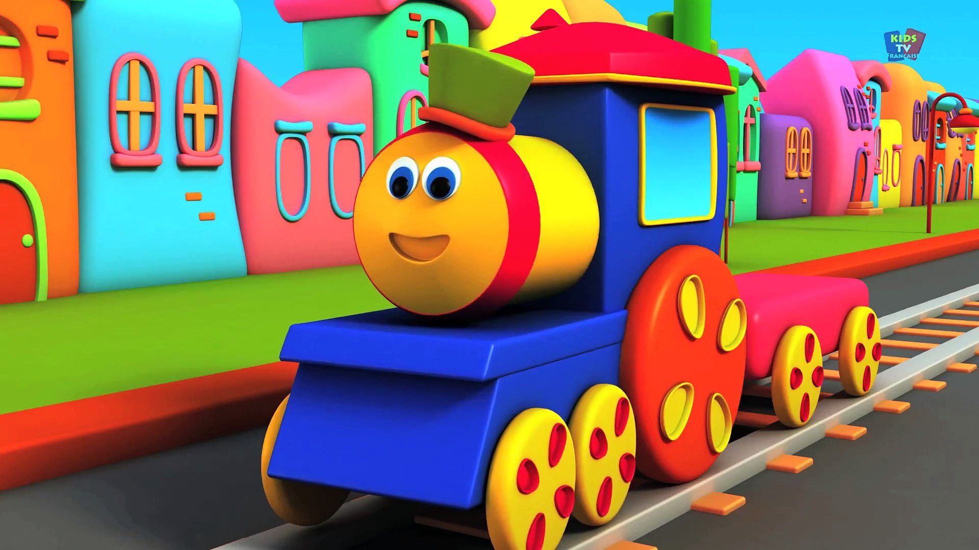 ABC La chanson des animaux de BOB - bob le train en français - Bob compilation française