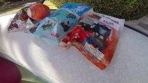 [JOUET] Sous leau avec Thomas&Friends, Transformers & Marvel - Studio Bubble Tea unboxing toys