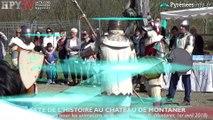 HPyTv Pyrénées | Fête de l'Histoire au Château de Montaner (1er avril 18)