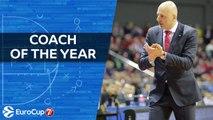 2017-18 7DAYS EuroCup Coach of the Year: Sasa Obradovic, Lokomotiv Kuban Krasnodar
