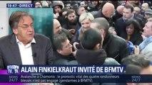 """Marche pour Mireille Knoll: Finkielkraut """"regrette la décision du Crif"""" et """"les brailleurs"""""""