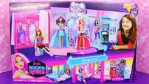 NEW Barbie Rock N Royals Folding Concert Stage Dollhouse Rockstar Courtney & Erika Singing Dolls