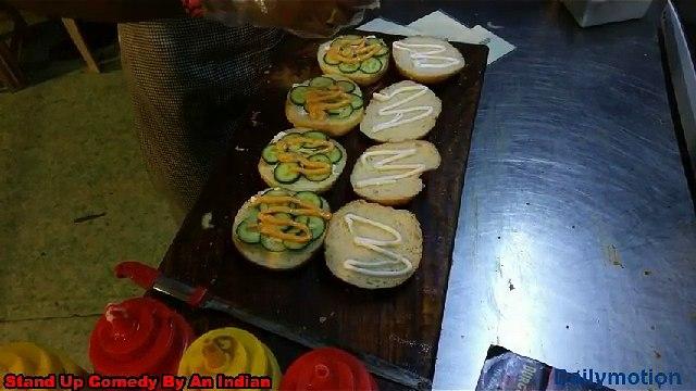 Indian street foods - Best Street Burger in India - Indian Foods