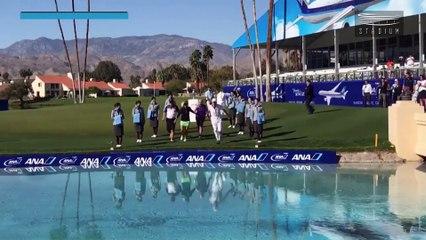 Pernilla Lindberg Wins First LPGA Major, Takes a Swim