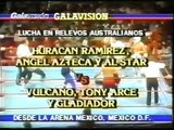 Huracan Ramirez/Angel Azteca/All Star vs Vulcano/Tony Arce/Gladiador (CMLL 1989)