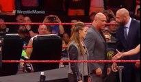 Stephanie Mcmahon & Triple H Attacks Ronda Rousey & Kurt Angle - WWE Raw Highlights 2nd April 2018