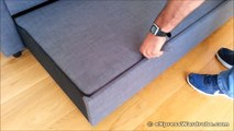 IKEA Sofa Bed - how to make a sofa bed