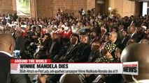 South Africa's ex-First Lady, anti-apartheid campaigner Winnie Madikizela-Mandela dies at 81