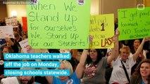 Oklahoma Public Schools Close As Teachers Vote With Their Feet