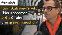 """Rémi Aufrere-Privel (CFDT) : """"Nous sommes prêts à faire une grève marathon"""""""