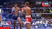 Lao Chantrea vs Noengtrakan(thai), Khmer Boxing CNC 01 April 2018, Kun Khmer vs Muay Thai