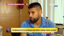 Emocionante historia, Cristian villagra jugador del futbol argentino deja el futbol para salvarle la vida a el hermano