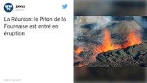 La Réunion. Nouvelle éruption du Piton de la Fournaise.