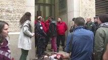 La fac de droit de Montpellier rouvre sous tension - 03/04/2018
