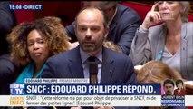 """SNCF: """"Si les grévistes doivent être respectés, les millions de Français qui veulent se déplacer doivent aussi être entendus"""", lance Edouard Philippe"""
