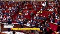 """Grève à la SNCF: """"J'entends autant les grévistes que ceux qui n'acceptent pas cette grève"""", déclare Edouard Philippe"""